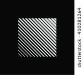 square logo. unusual flat icon. ... | Shutterstock .eps vector #410281264