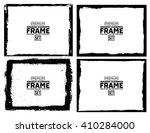grunge frame texture set  ... | Shutterstock .eps vector #410284000