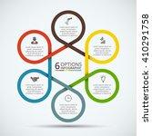 vector infographic design... | Shutterstock .eps vector #410291758