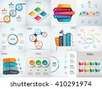 vector infographic design... | Shutterstock .eps vector #410291974