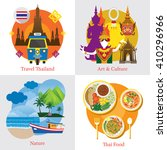 thailand travel label concept... | Shutterstock .eps vector #410296966
