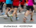 people running | Shutterstock . vector #410301964