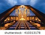 Railway Track On The Bridge...