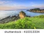 scenery of batu payung and... | Shutterstock . vector #410313334