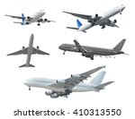 collection of passenger... | Shutterstock . vector #410313550