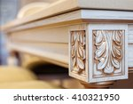 carving element. furniture in... | Shutterstock . vector #410321950