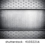 metal template background | Shutterstock . vector #41032216