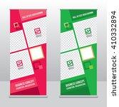 banner roll up design  business ...   Shutterstock .eps vector #410332894