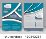 abstract flyer design... | Shutterstock .eps vector #410343289