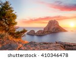 Es Vedra At Sunset  Ibiza  Spain