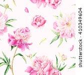 summertime garden flowers... | Shutterstock . vector #410349604