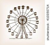 Ferris Wheel Sketch Style...