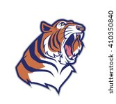 tiger head mascot | Shutterstock .eps vector #410350840