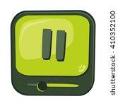 media player icon button  ...