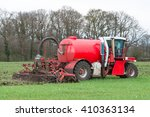 Injection Of Liquid Manure Wit...