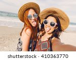 close up lifestyle portrait of... | Shutterstock . vector #410363770