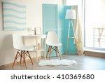 modern room design interior | Shutterstock . vector #410369680