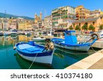 Traditional Fishing Boats In...