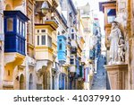 Typical Narrow Streets With...