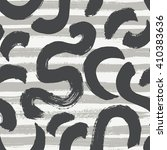 vector seamless pattern with... | Shutterstock .eps vector #410383636