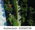 Top View Of Highway In A...
