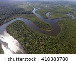 Top View Of Amazon Rainforest ...
