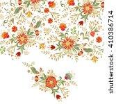 floral background | Shutterstock .eps vector #410386714