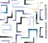 cute vector geometric seamless... | Shutterstock .eps vector #410394079