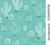 seamless vector pattern with... | Shutterstock .eps vector #410400958