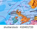United Kingdom In Europe On Th...