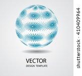 sphere abstract.   Shutterstock .eps vector #410409964