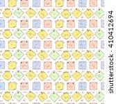 sticky notes vector seamless... | Shutterstock .eps vector #410412694