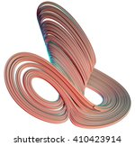 3d illustration of abstract... | Shutterstock . vector #410423914