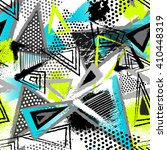 abstract seamless chaotic... | Shutterstock .eps vector #410448319