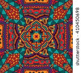 abstract folk ethnic colorful... | Shutterstock . vector #410450698