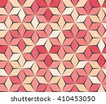 Geometric Abstract. Pink Coral...
