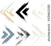 cute vector geometric seamless... | Shutterstock .eps vector #410461030