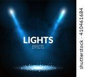 floodlights spotlights...   Shutterstock .eps vector #410461684