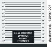 police mugshot. police lineup... | Shutterstock .eps vector #410464009