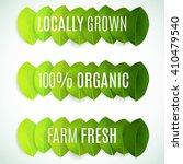set of  stamps  badges  labels... | Shutterstock .eps vector #410479540