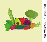 vegetables | Shutterstock . vector #410487898
