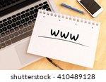 www   world wide web  ...   Shutterstock . vector #410489128
