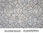 abstract pattern of grey stone... | Shutterstock . vector #410490994