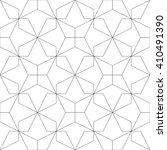 monochrome geometric seamless... | Shutterstock .eps vector #410491390