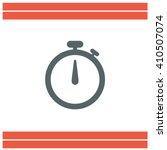 stopwatch vector icon | Shutterstock .eps vector #410507074
