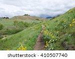 boise  idaho trail system | Shutterstock . vector #410507740