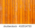 Orange Wood Background