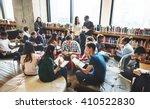 classmate classroom sharing... | Shutterstock . vector #410522830