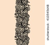 abstract seamless lace pattern... | Shutterstock .eps vector #410545648