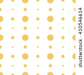 orange seamless dots pattern | Shutterstock .eps vector #410546614